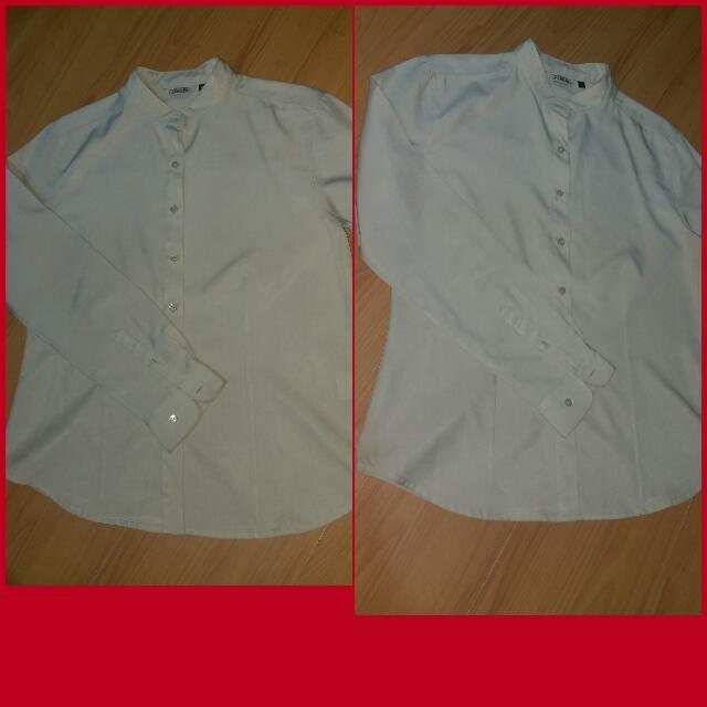 Office Wear Beige Long Sleeves