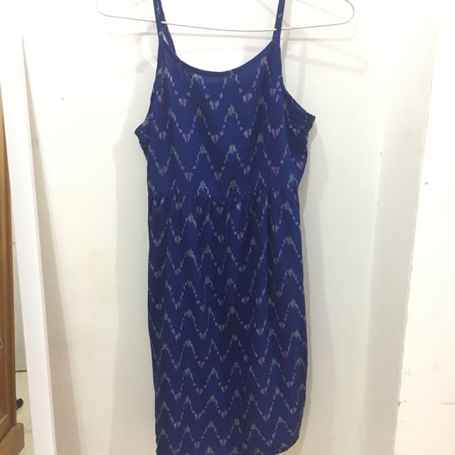 Old Navy Blue Short Dress