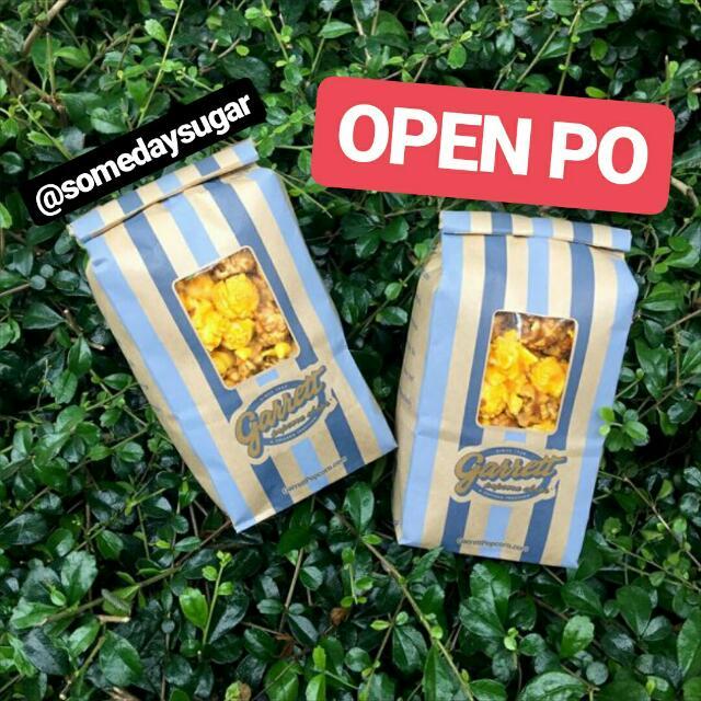 Open PO Garrett Popcorn