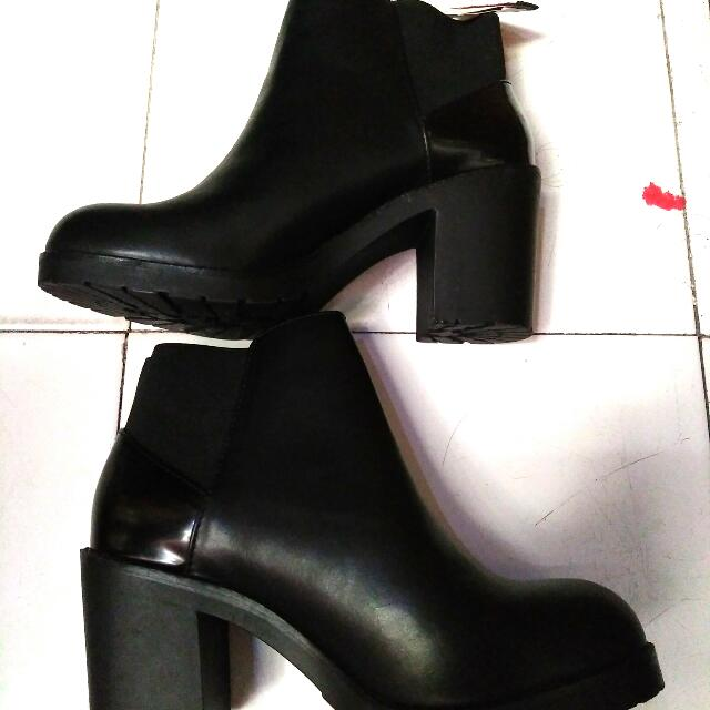 Original Ankle Boots Pull And Bear