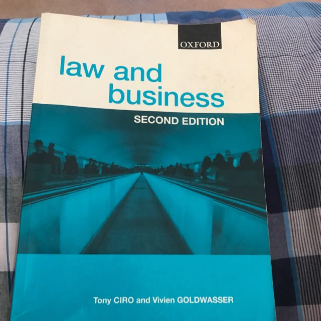 Oxford Law And Business Second Edition