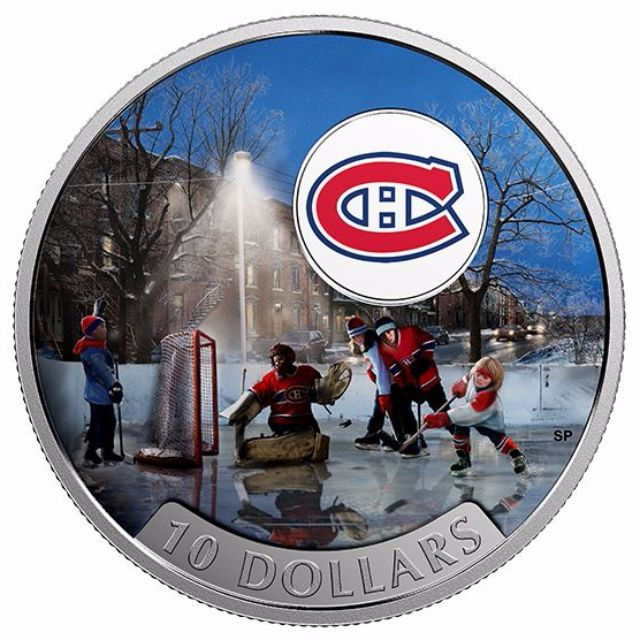 Passion to Play: Montreal Canadiens - 1/2 oz Pure Silver Coin