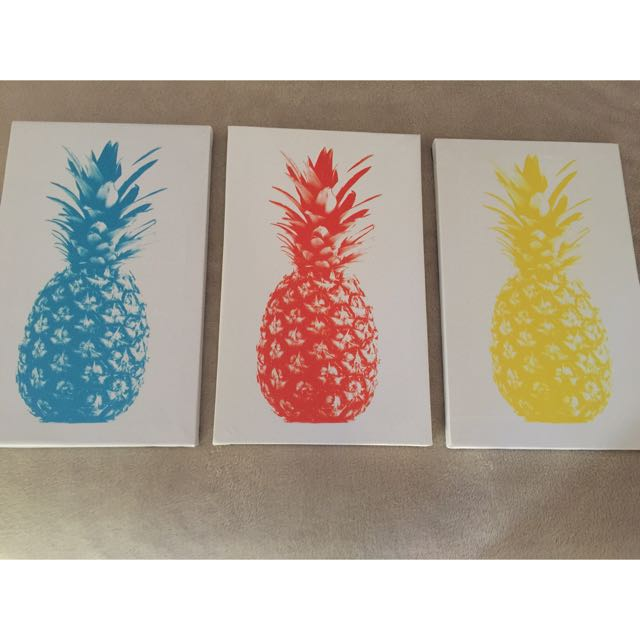 Pineapple Canvases