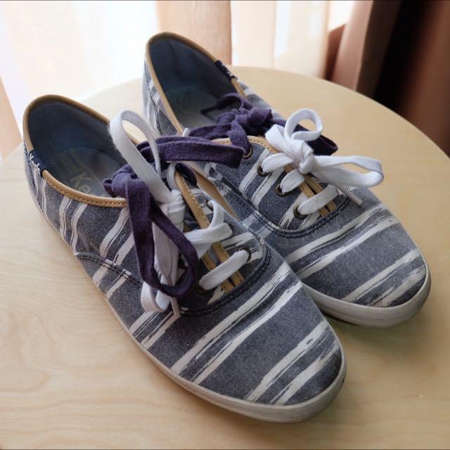 Preloved Keds Shoes Original Stripe