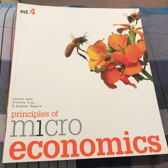Principles Of Micro Economics Ed. 4