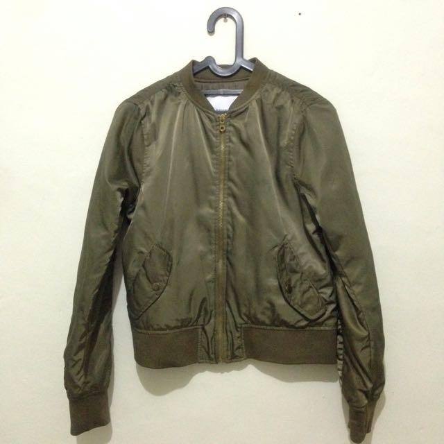 REPRICE LAGI!! Pull&Bear Bomber Jacket