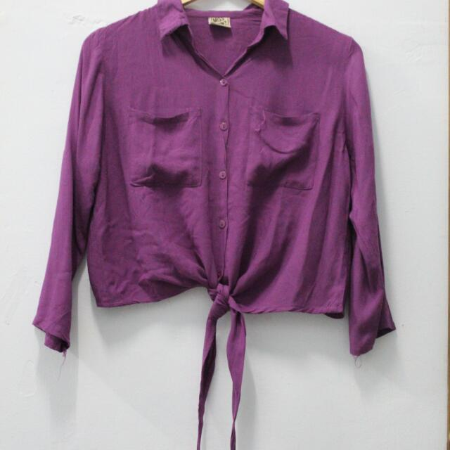 Purple Longsleeve Shirt