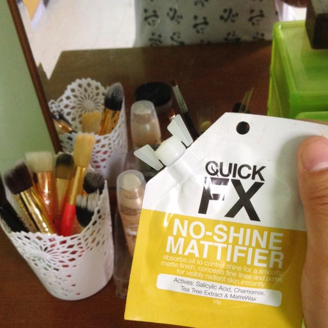 QUICK FX NO SHINE MATTIFIER