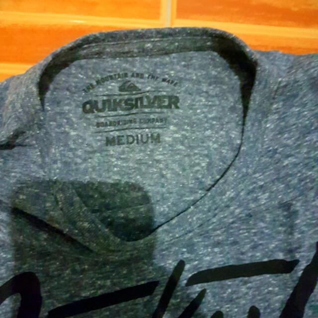Quiksilver Grey Tees Php 1500