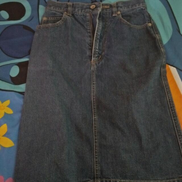 Rok Jeans Uniqlo