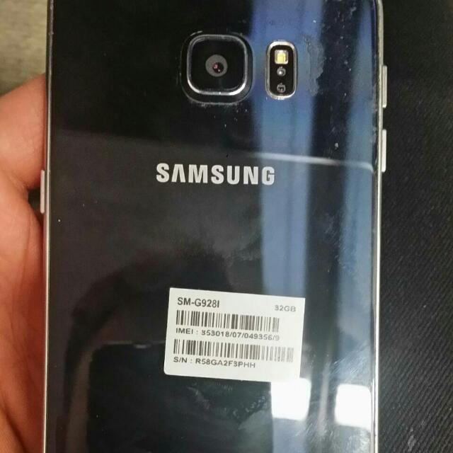 SALE ! Samsung S6 Edge Plus .. ( Little Cracked on Screen )