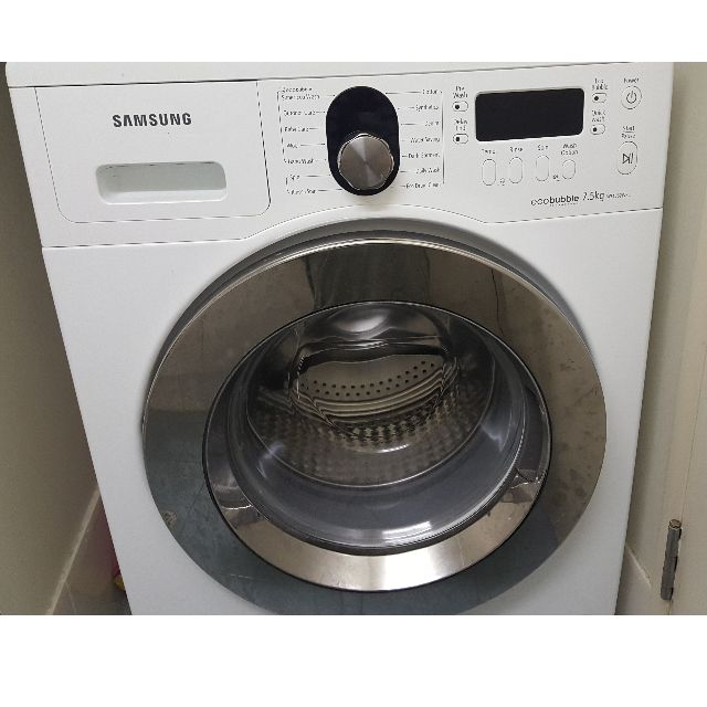 Samsung Ecobubble Washing Machine (7.5kg front load)
