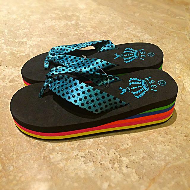 Sandal Polcadot