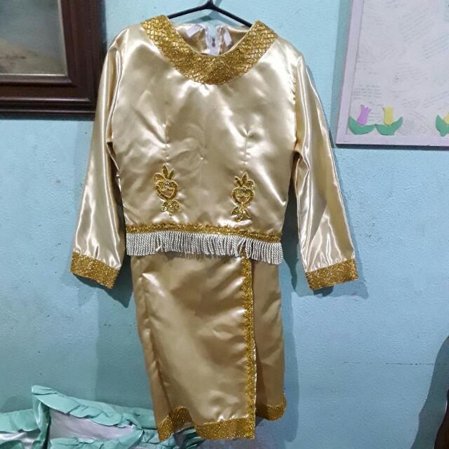 SARIMANOK COSTUME (GOLD)