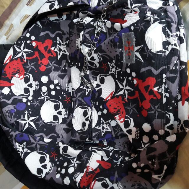 Skull Backpack-reserved
