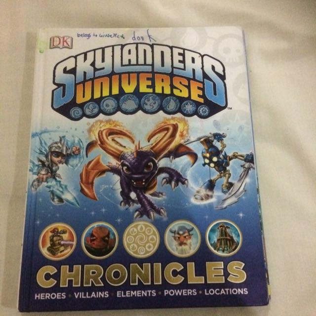 Skylanders Universe Book