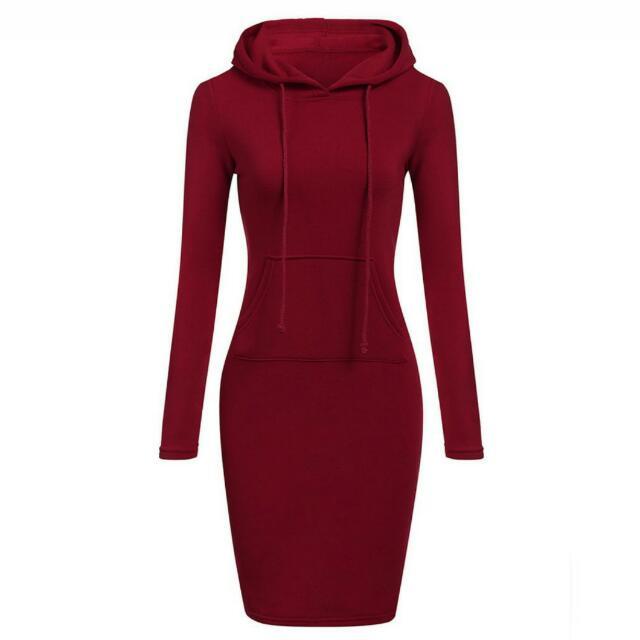 Slimfit hoodie dress