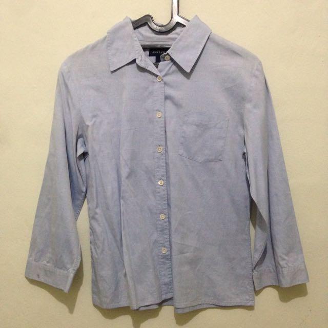 Soft Blue Shirt
