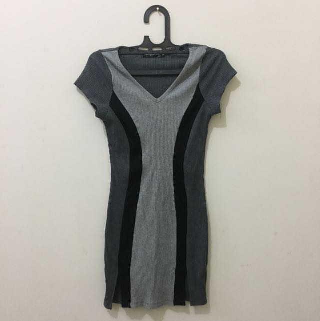 Something Borrowed Mini Bodycon Dress