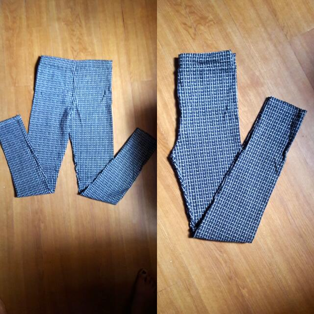 Stretchable Chekered Pants