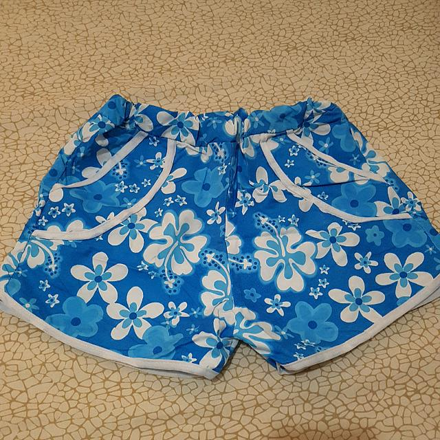 Blue Summer Shorts