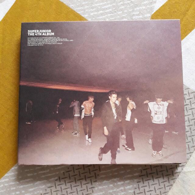 Super Junior 4th Album