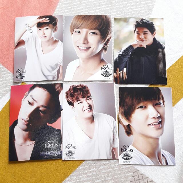 Super Junior Photocard
