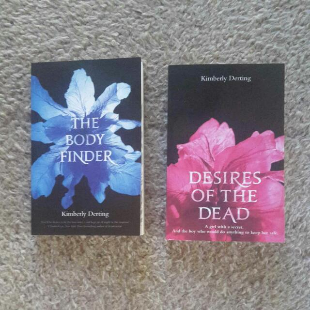 The Body Finder teen novel series by Kimberly Derting