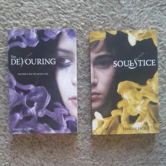 The Devouring teen fiction series by Simon Holy