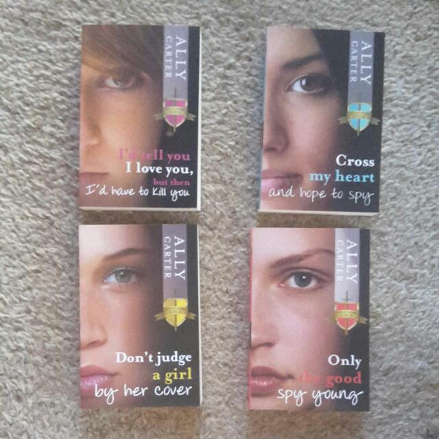 The Gallagher Girls teen novel series by Ally Carter