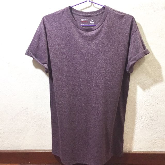c4e03fd6 Topman Purple Muscle Fit Roller Tee, Men's Fashion, Clothes on Carousell