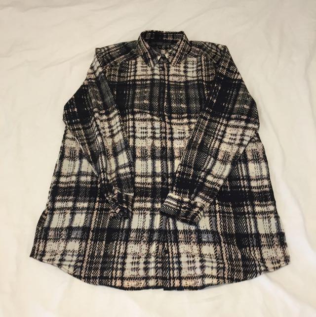 Topshop Petite Check Shirt