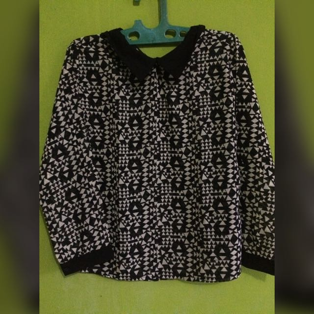Triangles Blouse