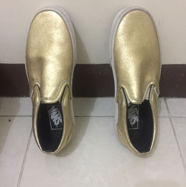 Vans Gold Slip On