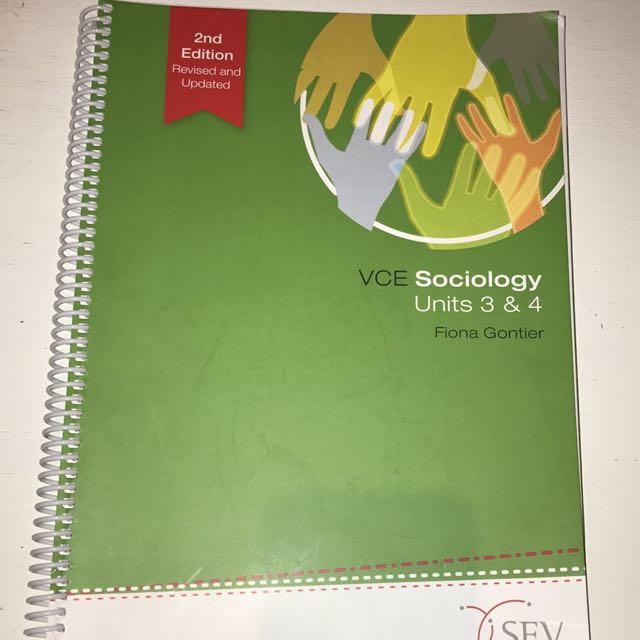 VCE Sociology Units 3 & 4