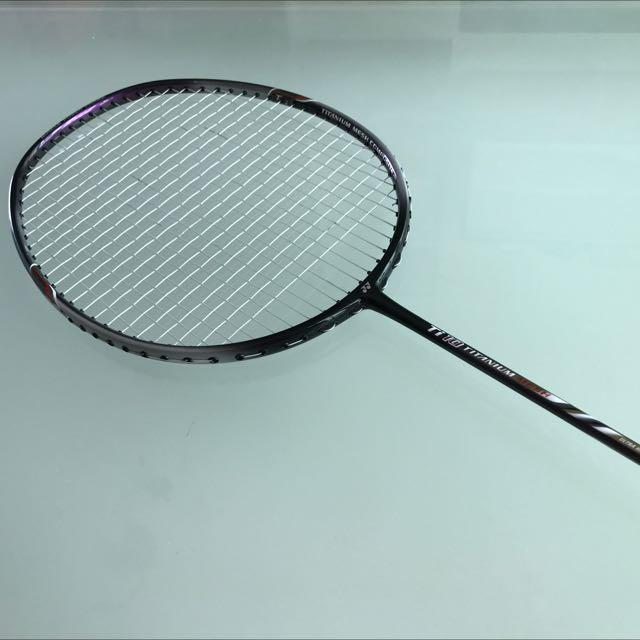 398b5edeac3 Yonex Ti 10 Titanium Mesh Badminton Racket