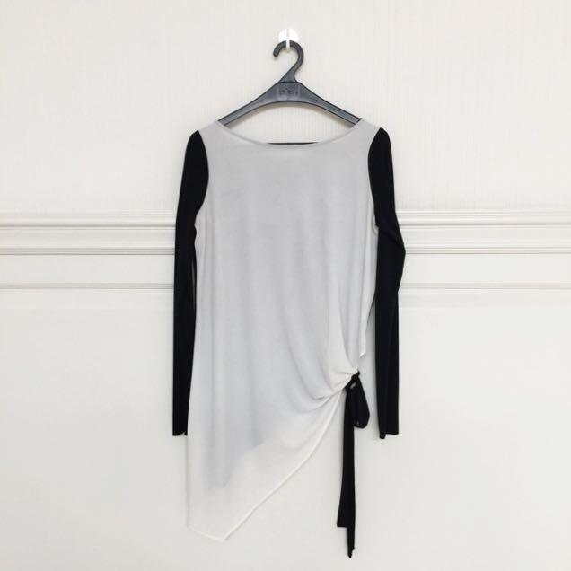 Zara Asymmetrical Top - S