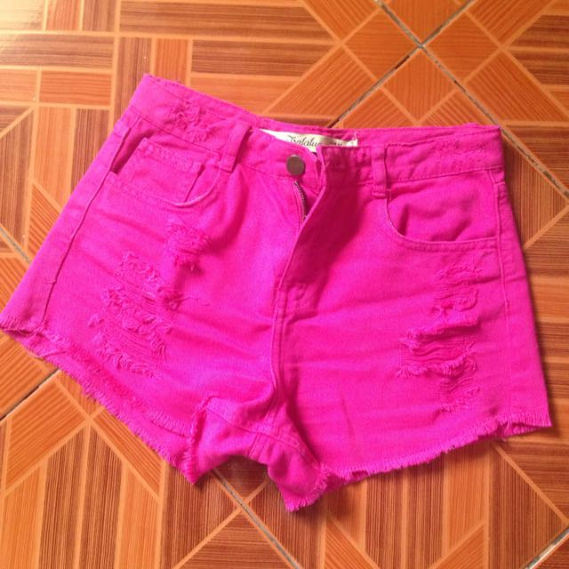 Zara Ripped Shorts
