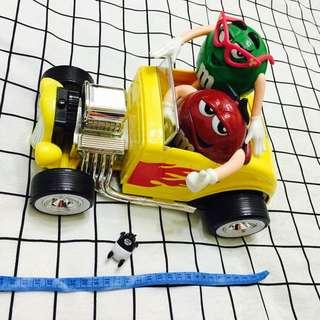 MM巧克力 公仔 玩具車 模型