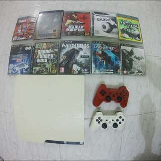 Playstation 3 Slim PS3 (White)