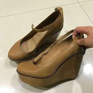 英國品牌ALDO楔型瑪莉珍鞋(英國帶回)