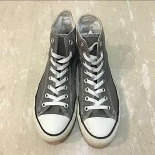 Converse Grey Classic High Cut