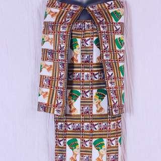Vintage Nefertiti Dress