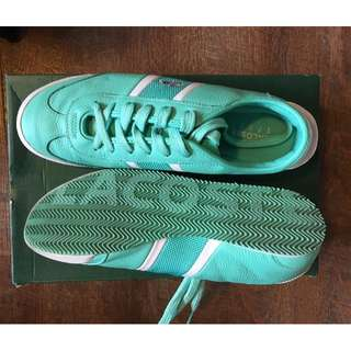Lacoste Tennis Sneakers Turquoise size 8