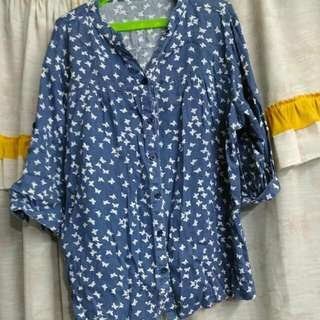 *REPRICED* Butterfly Printed Top