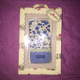 Iphone 5/5s/SE Cathy Kidstone Blue Floral Case