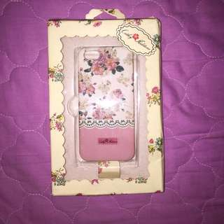 Iphone 5/5s/SE Cathy Kidstone White with Pink Floral Case!