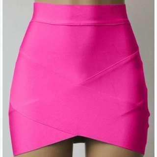 Bandage Pink Skirt