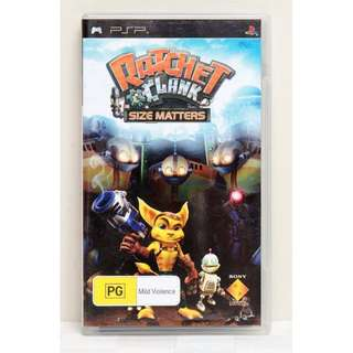 Ratchet & Clank Size Matters - PSP Video Game