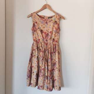 Princess Highway/Dangerfield Vintage Floral Dress